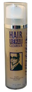 Hair Rehab Cleanser for Dry, Chemically Damaged, and Abused Hair