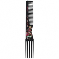 Ed Hardy True to My Love Teasing Comb