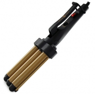 Gold 'N Hot Jumbo Ceramic Triple Barrel Waver