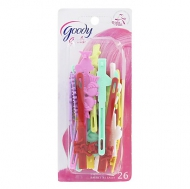 Goody Girls Self Hinge 1.5'' Barrettes, 26 CT