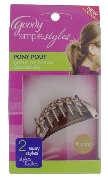 Simple Styles Pony Pouf Clip