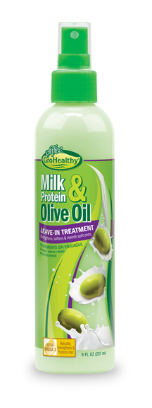 Milk Protein and Olive Oil Leave-In Treatment