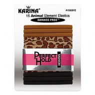 KARINA 15 Piece Animal Element Elastics