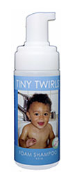 Tiny Twirls Foam Shampoo