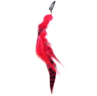 Mia Clip In Feathers