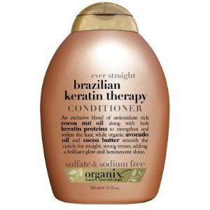 organix ever straight brazilian keratin therapy conditoner