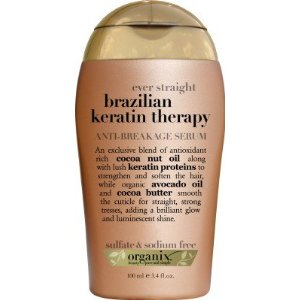 organix ever straight brazilian keratin therapy anti