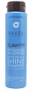 Flawless No Sulfates Allowed Repairing Shine Shampoo For Dry Damaged Hair