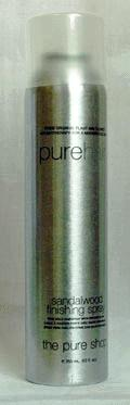 Purehair Sandalwood Finishing Spray