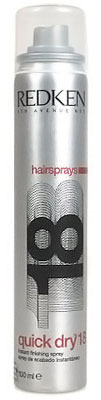 Quick Dry 18 Hairspray