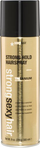 Strong Sexy Hair Strong Hold Hairspray with Tritanium Complex