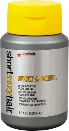 Short Sexy Hair What a Body Ultra Bodifying Blow Dry Gel
