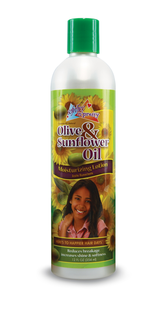 Olive and Sunflower Oil Moisturizing Lotion