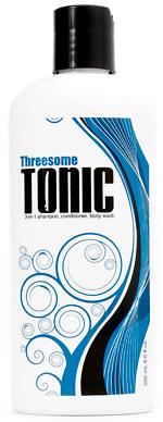 Threesome Tonic 3-in-1 Shampoo, Conditioner, Body Wash