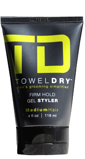 Firm Hold Gel Styler for Medium Hair