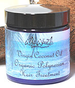 Virgin Coconut Oil Organic Polynesian Hair Treatment