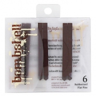 bombshell brunette collection Rubberized Flat Pins