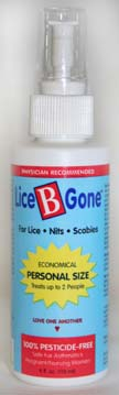 Lice B Gone Personal Size