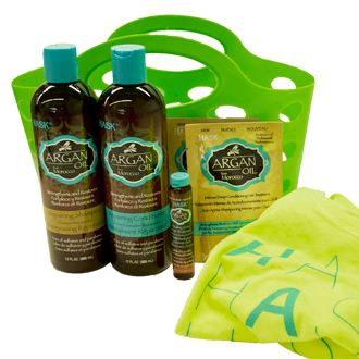 Argan Oil from Morocco Hair Care Gift Basket
