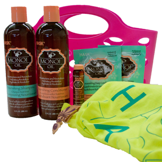 Monoi Oil Hair Care Gift Basket