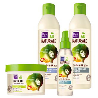 Au Naturale Anti-Breakage and Hair Growth Bundle