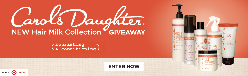 Carols Daughter NEW Hair Milk Collection Giveaway