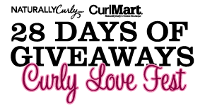 28 Days of Giveaways Curly Love Fest