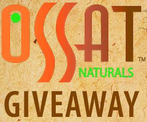 OSSAT Naturals Line Giveaway