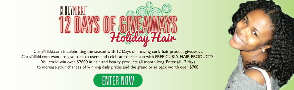 CurlyNikki's Winter Giveaway