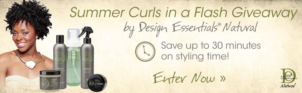 Design Essentials Summer Curls in a Flash Giveaway
