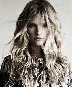 Strip Down Your Beachy Waves for Fall