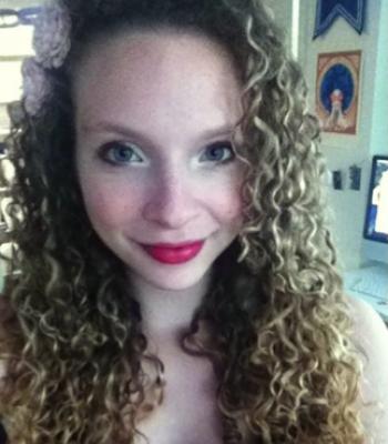 Sadie's Curly Hair