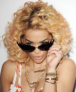 Steal Rita Ora's Look: Blonde Hair Dark Eyebrows