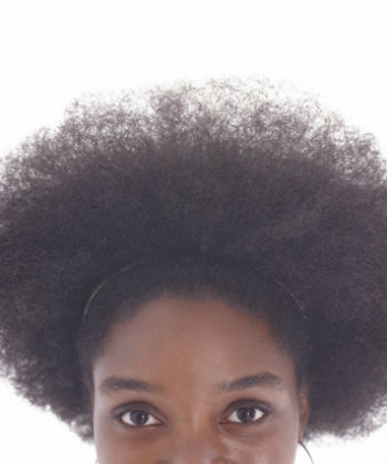 secret to the afro puff