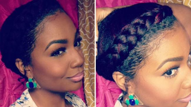 Goddess Braids Hairstyles On Natural Hair