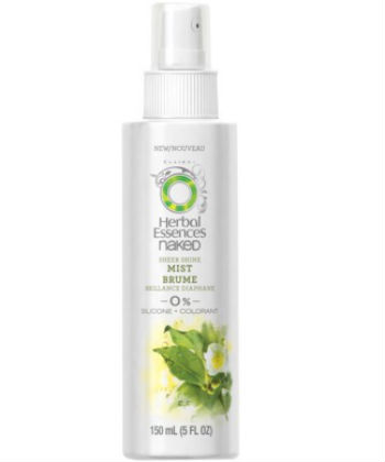 herbal essences naked sheer shine
