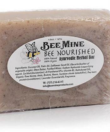 bee nourished ayurvedic herbal bar