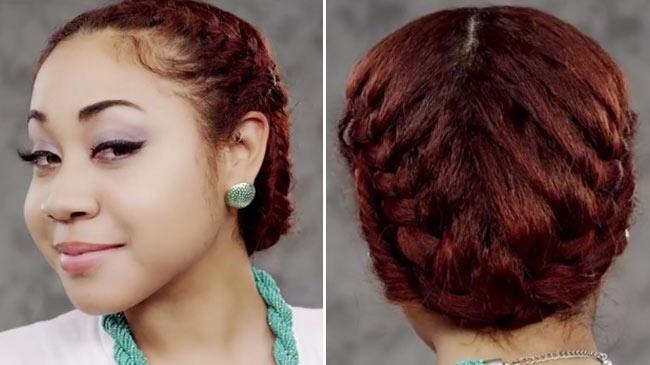 Fishtail Braid Styles For Black Hair Style 1 Fishtail Braid Crown