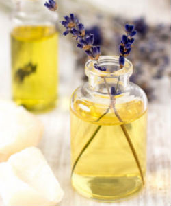 A Simple Lavender Spritz for