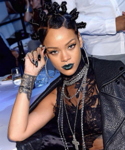 "Rihanna Calls Her Bantu Knots ""Ghetto"""