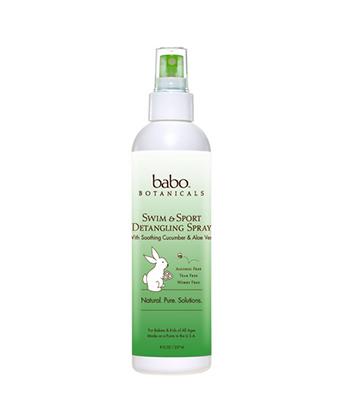 babo botanicals swim and sport detangling spray