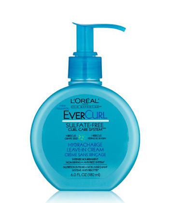 loreal evercurl leave in cream