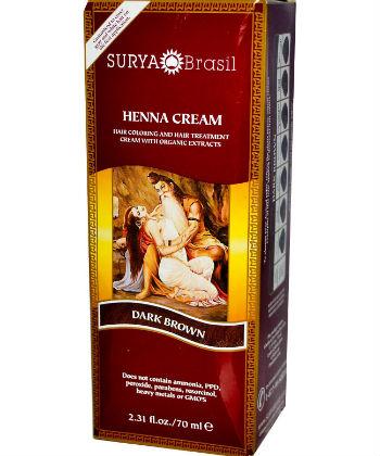 surya henna coloring powder