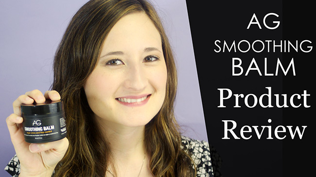 AG Smoothing Balm product review