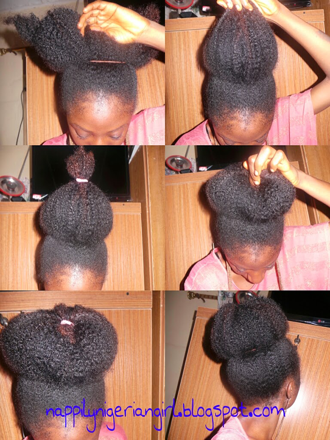 How To Get A Really Big Natural Hair Bun