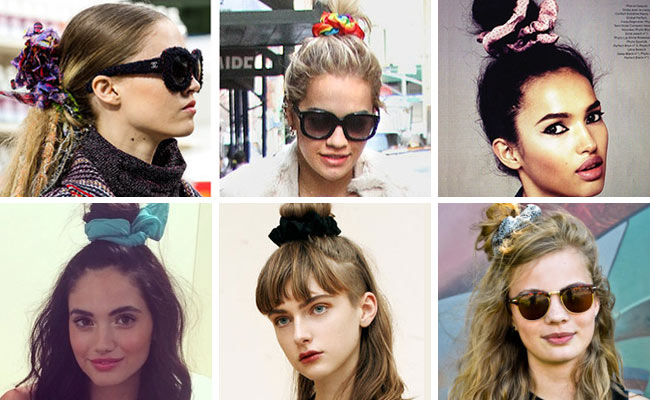 Scrunchie Hair Styles: Summer's Hottest Accessory: The Scrunchie!?