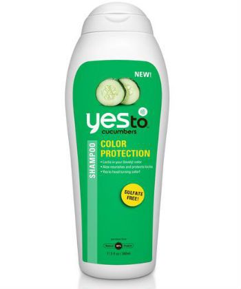 cucumber color protection shampoo