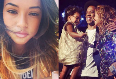 Chris Brown's Girlfriend Disses...Blue Ivy's Hair?