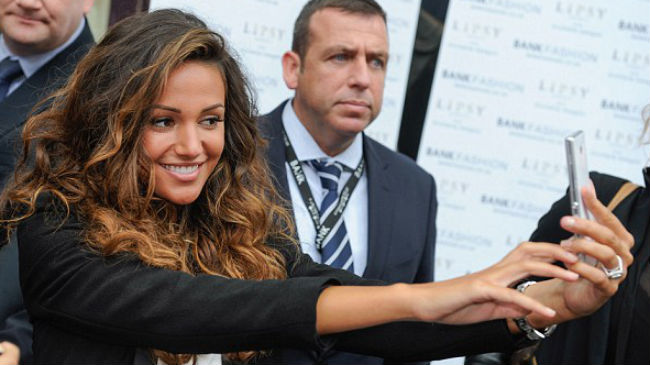 michelle keegan wavy hair
