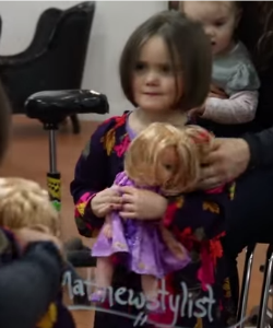 Emily Donated Her Hair to Kids with Cancer, and She's Only 3 Years Old